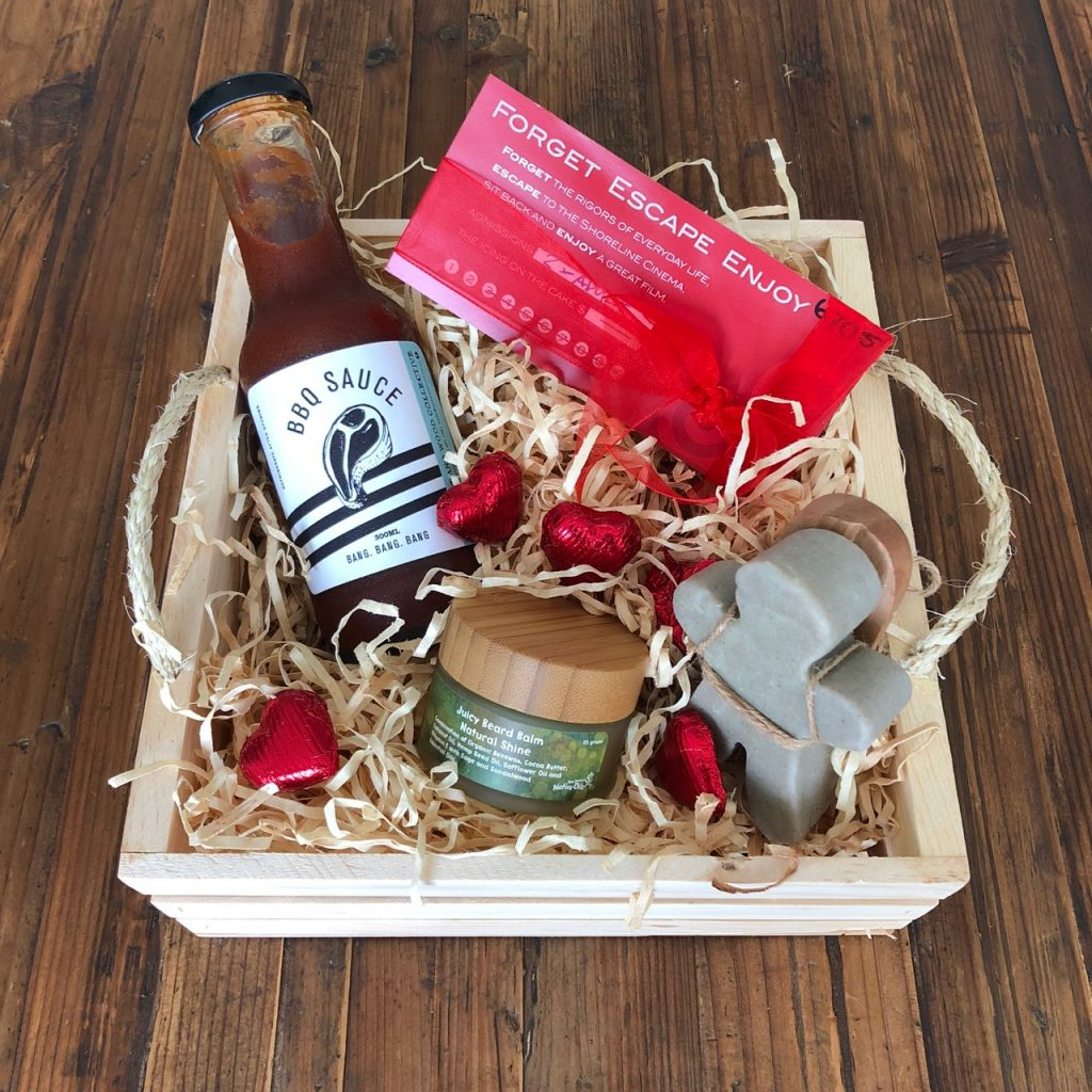 Kāpiti Goodies Valentine's Day Gift Basket For Him